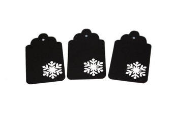 Snowflake 7 Gift Tags