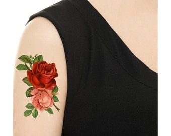 Temporary Tattoo - All about Rose - Various Patterns
