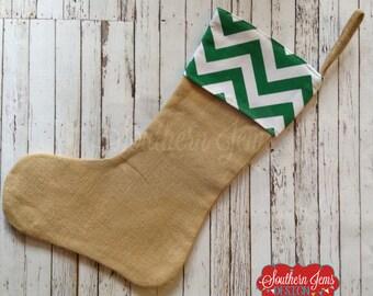 After Christmas Sale,Monogram Stocking,Christmas Stocking, Polka Dot Stocking, Chevron Stocking, Personalized Stocking, Stocking, Deccr
