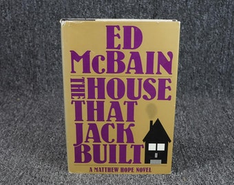 The House That Jack Built A Matthew Hope Novel By Ed Mcbain C. 1988