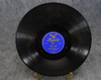 """Alfred Newman 78 RPm 1940s Majestic Records  """"Beau Soir/Drink To Me Only With Thine Eyes"""""""