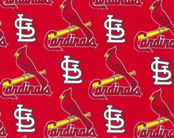 St. Louis Cardinals Fabric