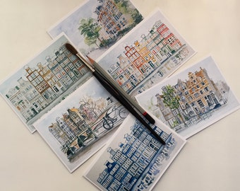 Note Cards featuring scenes of Amsterdam