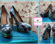 Star wars customized ladies shoes