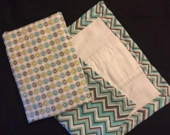 XL absorbent burp cloths