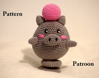 crochet pattern Spoink (Pokemon)