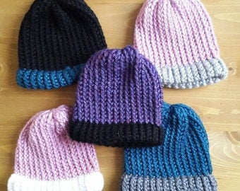 Super Soft Knitted Baby Beanie Hats