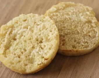 Organic English Muffins ~ 6 pack