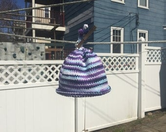 Baby Roll knit hat