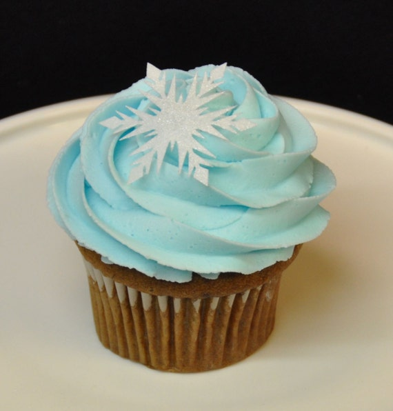 how to make snowflakes for cupcakes