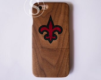 Wood phone case, Wood iPhone 7 case, Flur de lis iPhone 6 plus case, Wood iPhone 7 Plus case, Wood iPhone 6 case, Wood iPhone 6s case, SD-37