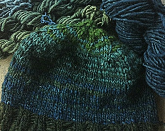 Naturally Dyed Wool Hat