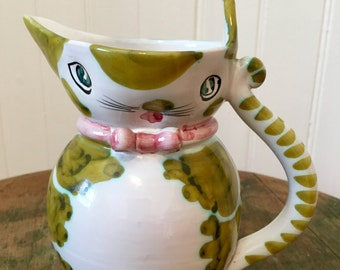 Cute Kitty creamer, made in Italy