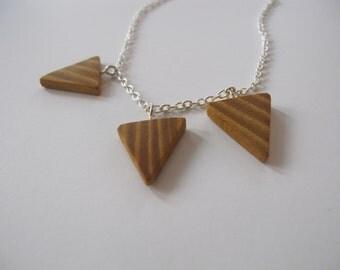 Osage Orange Triangles