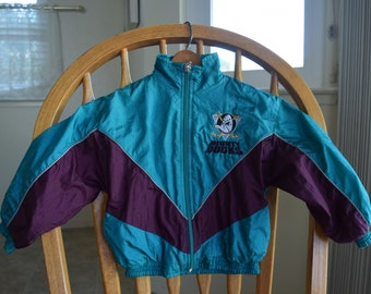 Vintage Toddler Mighty Ducks Windbreaker Jacket