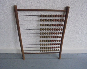 vintage french abacus/french school/1940