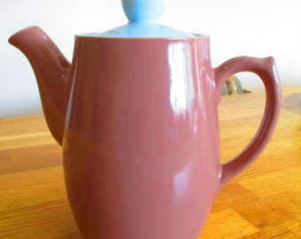 vintage coffee pot , denby langley coffee pot ref 8