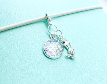 Mermaid planner charm - planner accessories - planner gifts - midori charm - fauxdori charm - mermaid accessories - mermaid gifts