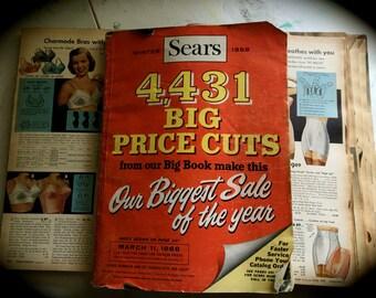 50 Piece Vintage Fashion Newspaper/Catalog Ephemera/Collage/Art Journaling/Papercraft Kit