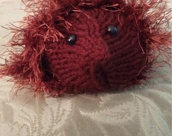 Handmade toy hedgehog