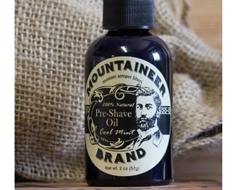 Pre-Shave Oil - Cool Mint