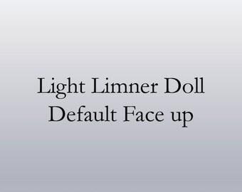 Default Face up/Blushing for Light Limner Dolls