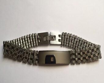 Mens Stainless Steel Chain link Bracelet ON SALE