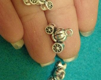 10 pumpkin carriage Tibetan tibet silver charms pendants antique wholesale UK