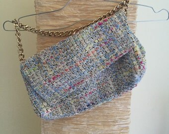 """Chanel"" fabric handbag"