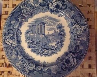 "Wedgewood Landscape Salad Plate 9"""