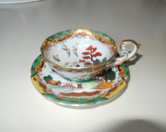 CHUBA CHINA TEACUP and Saucer