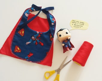 Superman Super baby Bib pattern