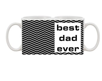 best dad ever cup/mug