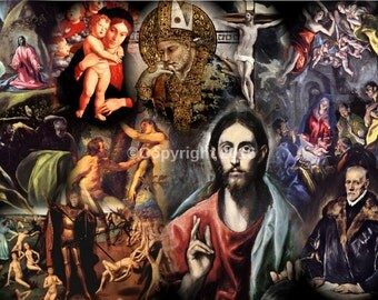 RELIGIOUS COLLAGE