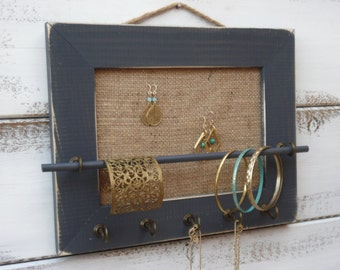 Jewelry Holder, Jewelry Organizer,  necklace display/jewelry display/11*8.5/jewelry rack