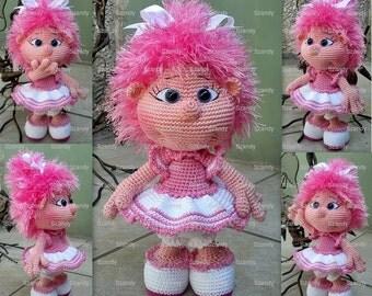 Summer Elf Doll PATTERN crochet amigurumi