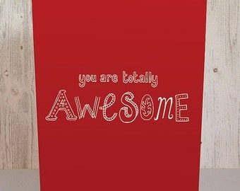20% OFF You are totally awesome