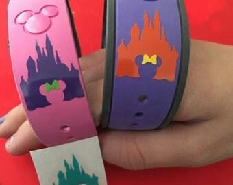 Disney Magic Band Decal | Disney Castle Decal | Disney Magic Band Castle Decal | Disney Vinyl Decals | Disney Magic Band Vinyl