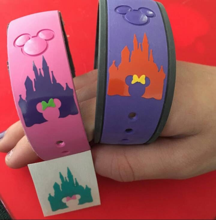 Disney Magic Band Decal Disney Castle Decal Disney Magic - Magic band vinyl decals