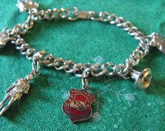 Plymouth MA charm bracelet
