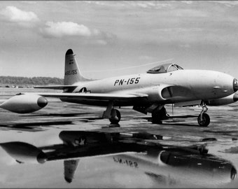 24x36 Poster . Lockheed P-80 Shooting Star P10