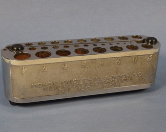 Morse Twist Drill Bit Holder Pat. Aug. 7, 1906