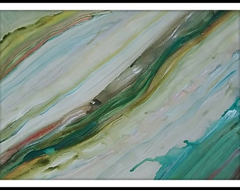 The Waves is an original painting by Lacey Gregg-Mehojah