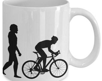 Evolution Of A Cyclist