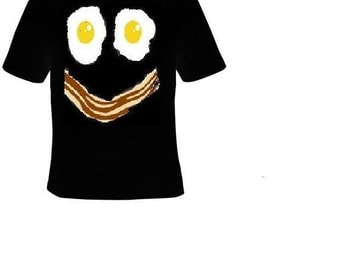 t-shirts : eggs and bacon