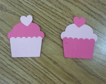 30 Valentine's Day Cupcake Gift Tags