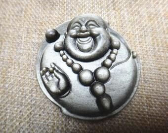 natural golden obsidian pendant Buddha amulet