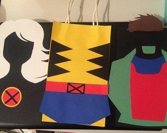 X-Men Party Favor Bags