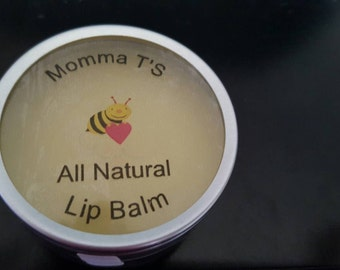 All Natural Lip Balm made with beeswax, shea, and other ingredients 1 oz.