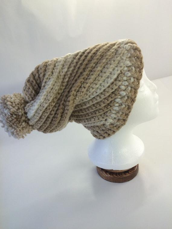 Creamy Almond Spiral Hat